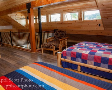 Beds in Cabin | Family vacations