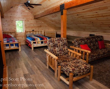 Beds in Cabin | Family Reunion Locations