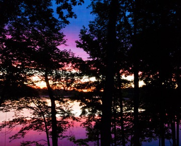 Sunsets on the Island | Cabins in Michigan