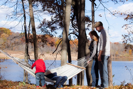 Hammock | Outdoor wedding venues in Michigan