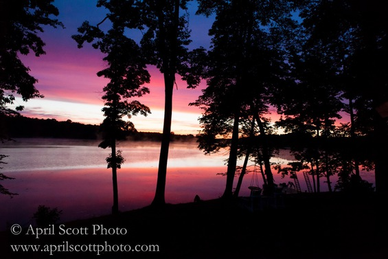 Sunsets on the Island | Cabins for rent in Michigan