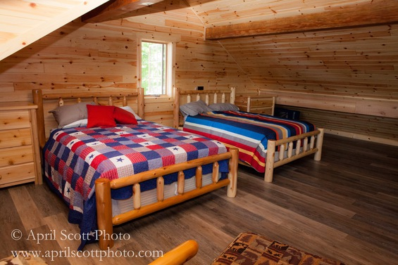 Beds in Cabin | Eco cottages