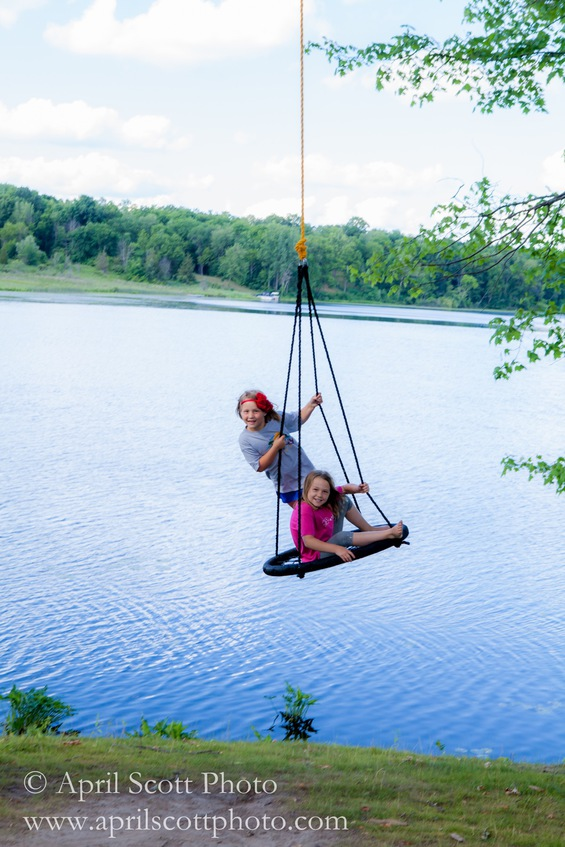 Swing Fun! | Glamping