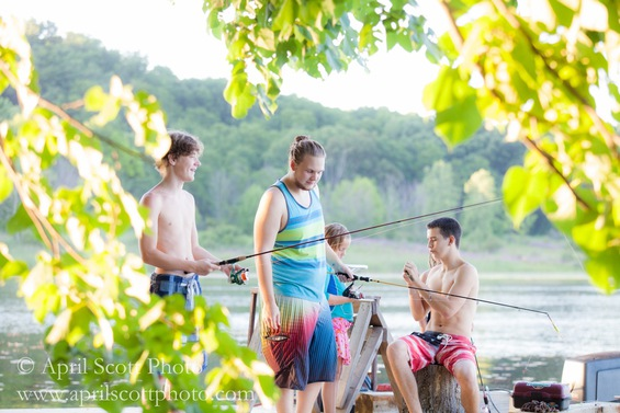 Fishing at the Cabin | Eco cabins