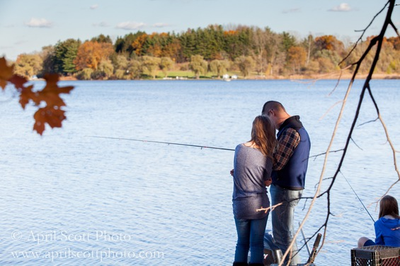 Fishing at the Cabin | Small wedding venues in Michigan